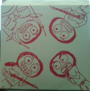 Red Paint  People 7 inch bacl