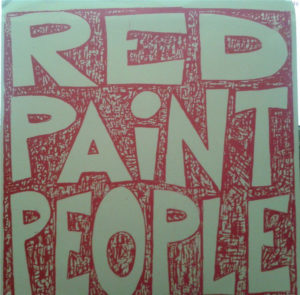 Red Paint  People 7 inch cover