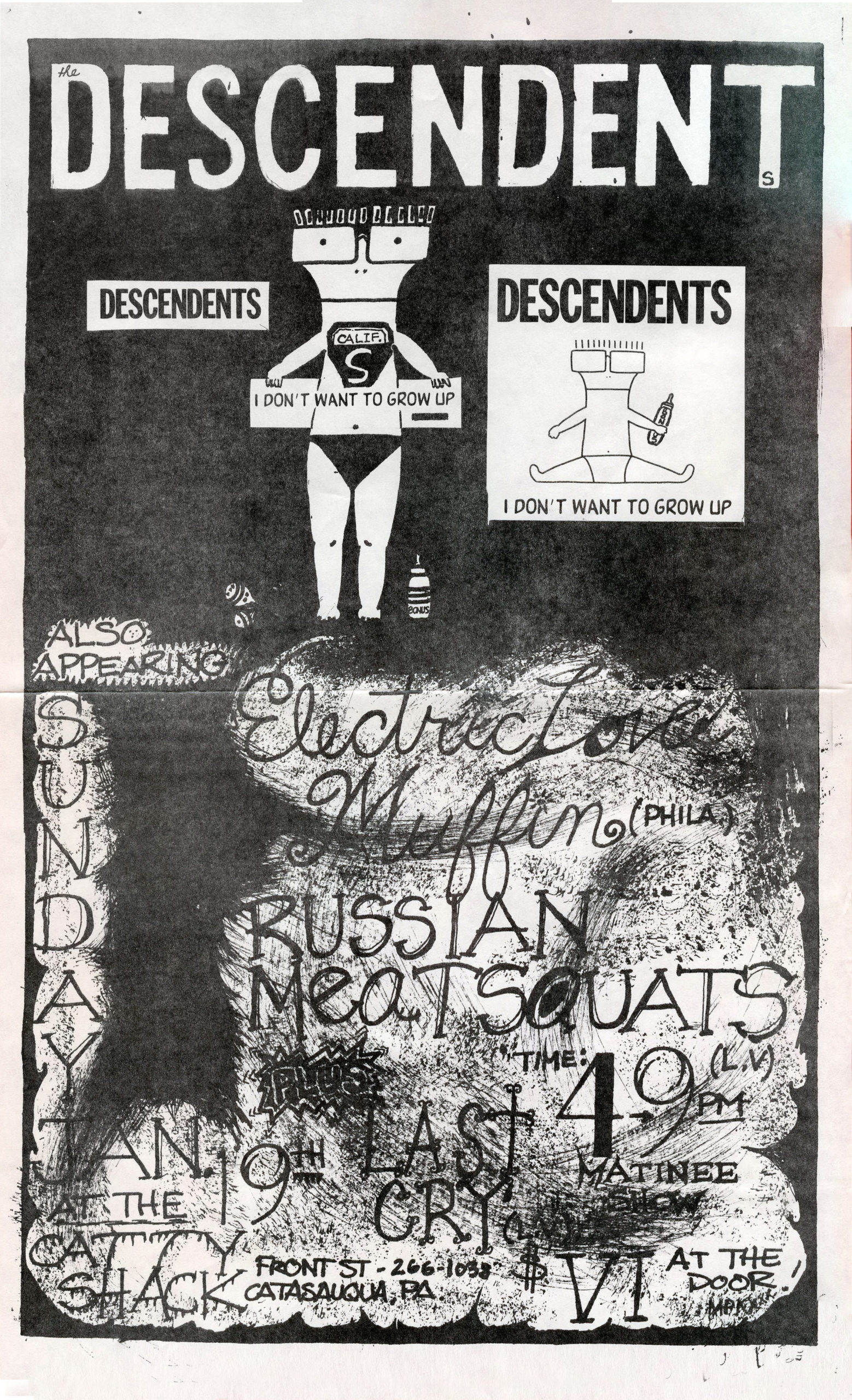 Flyer 2 – Catty Shack 1-19-86