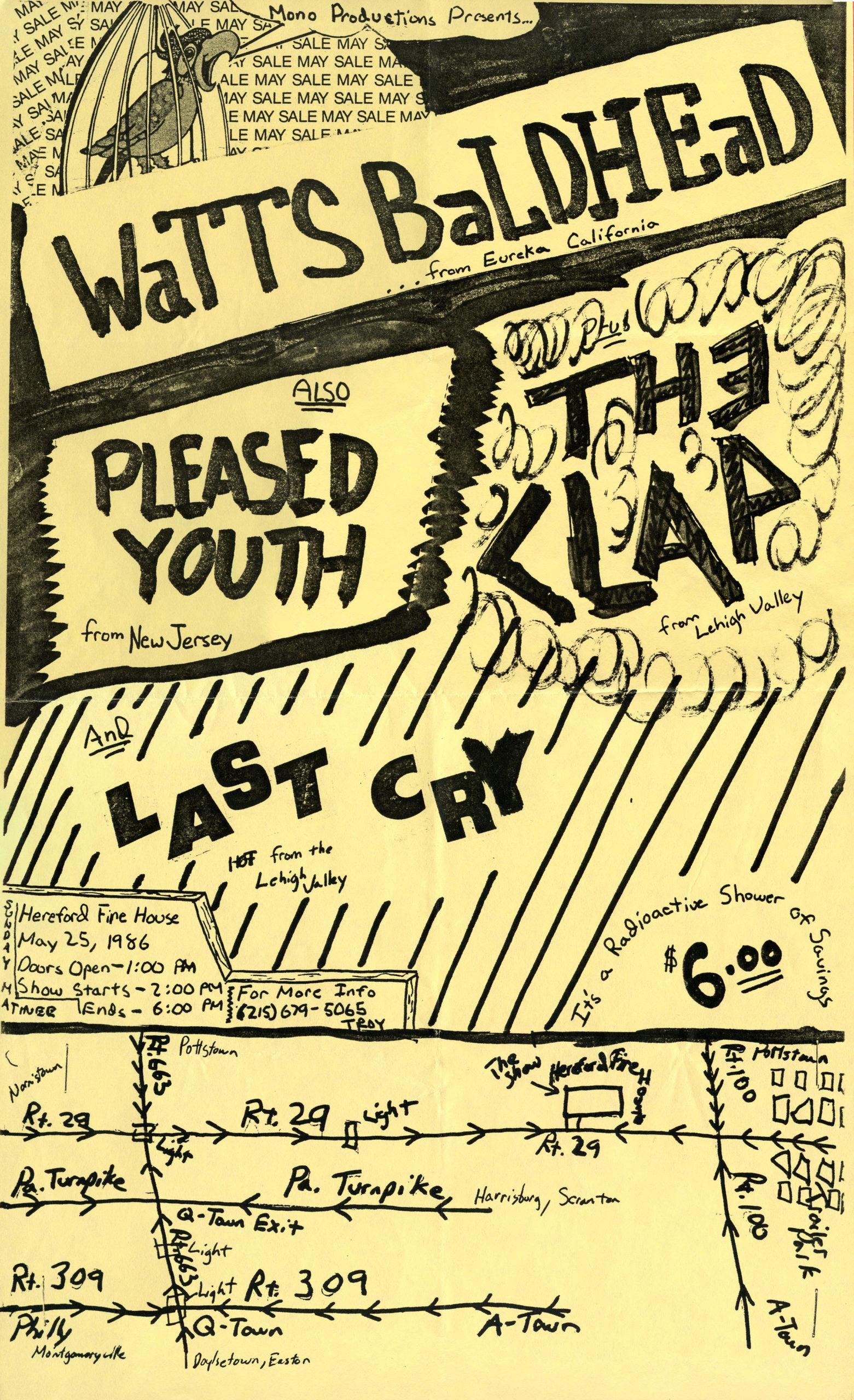 Flyer 3 – 5-25-86 show