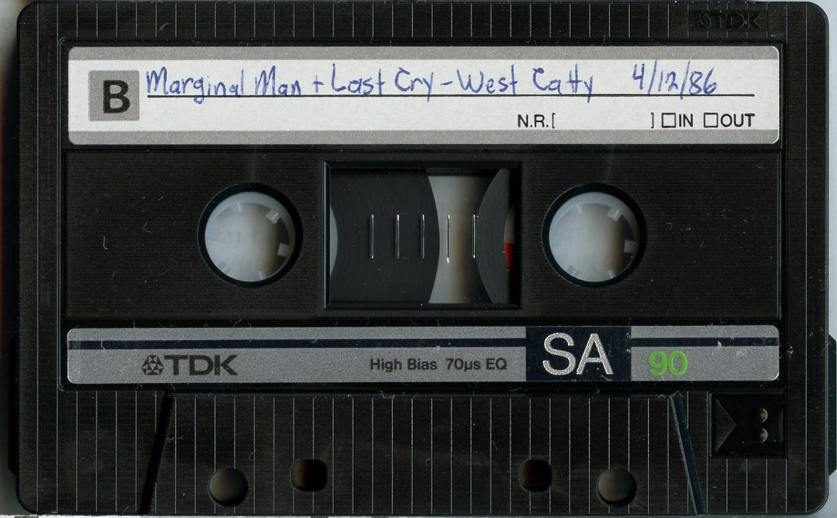 Last Cry cassette