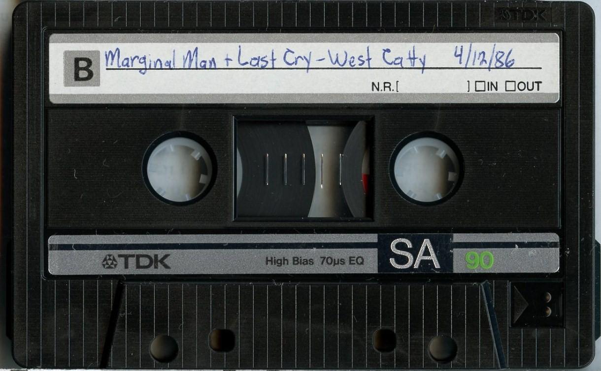 Last Cry cassette