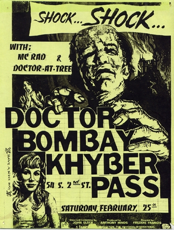 Doctor Bombay Flyer