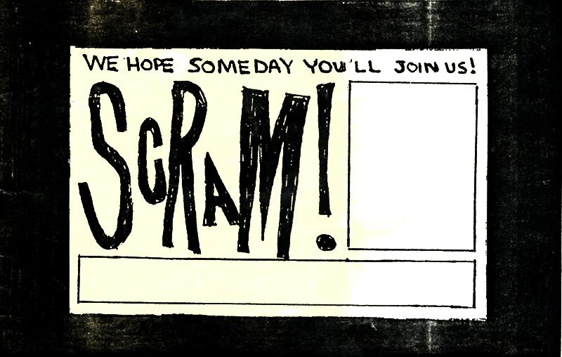 Scram Booklet