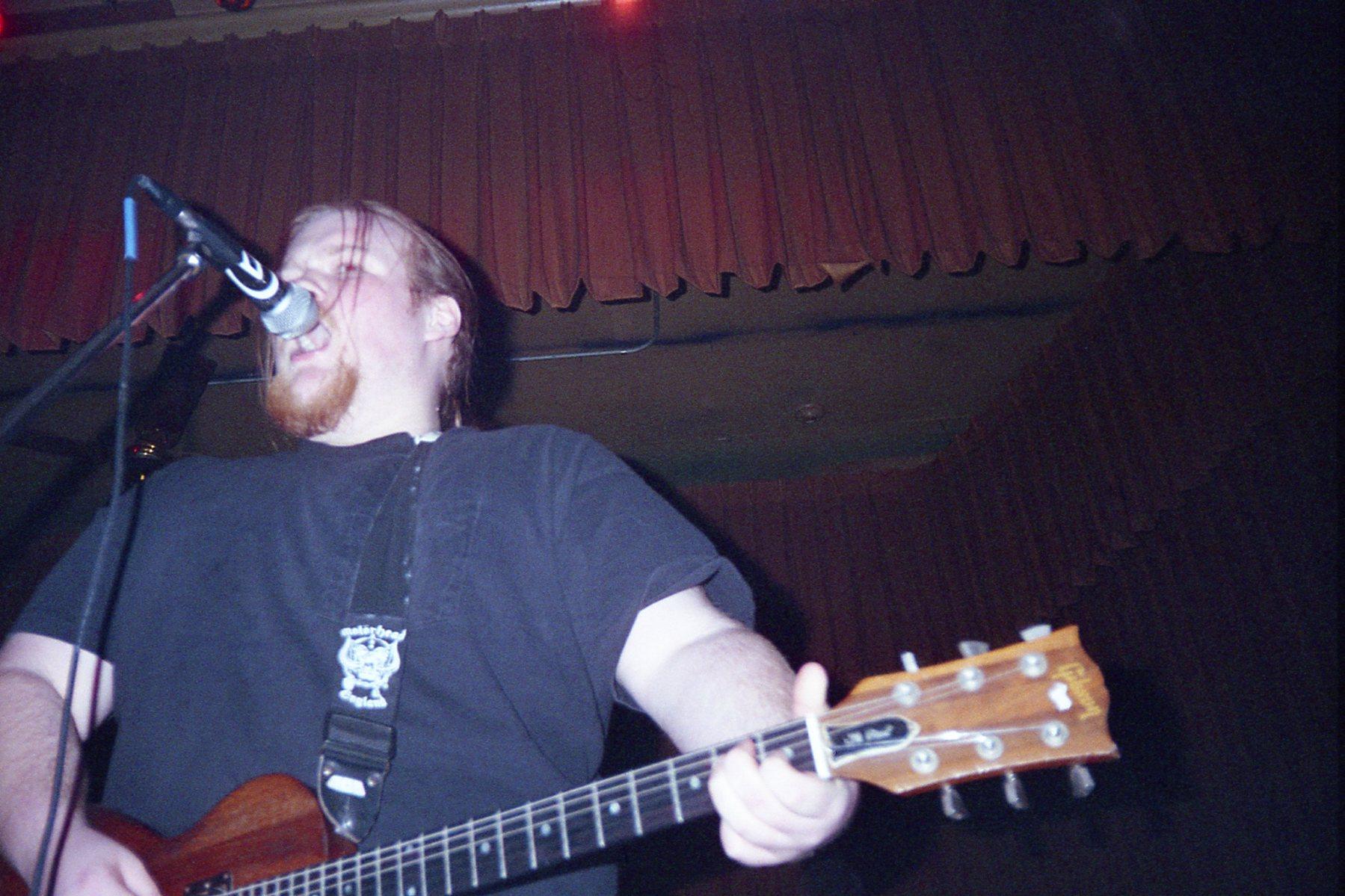 photo – Evan @ Fleetwood 1996