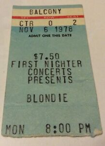 Blondie-ticket