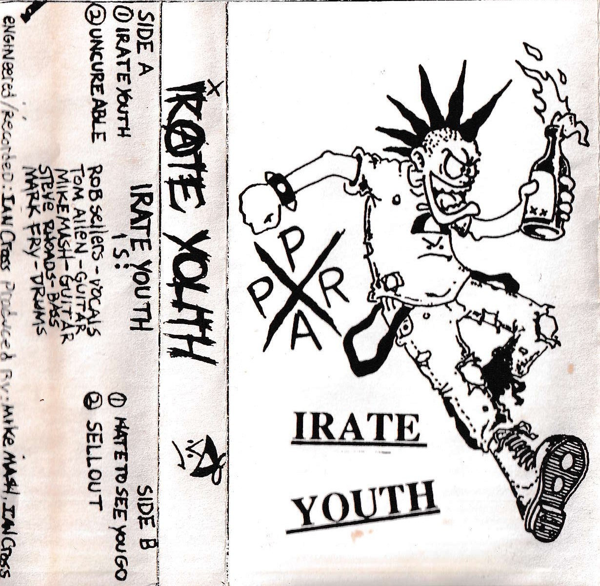 Irate Youth cover