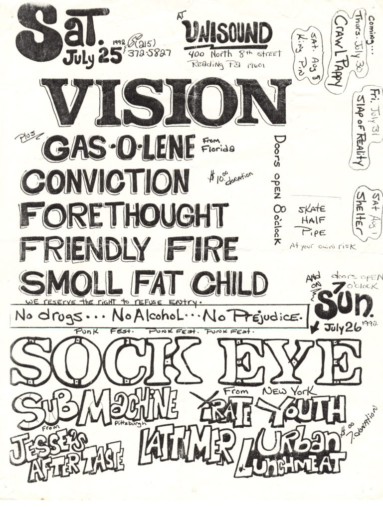 Irate Youth flyer