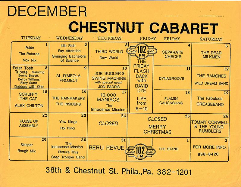 Chestnut-Cabaret-December-1987