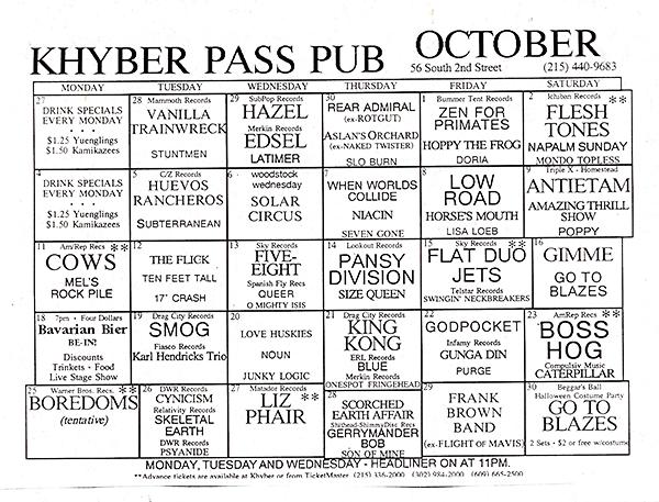 Khyber-flyer-October-2,1993