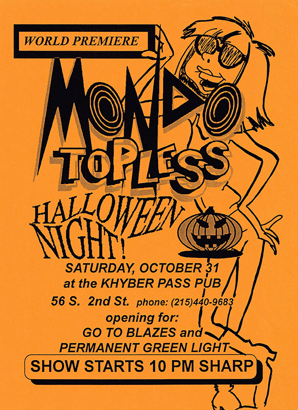 flyer-October-31,-1992-(1st-show)