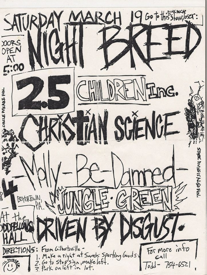 MightBreed flyer